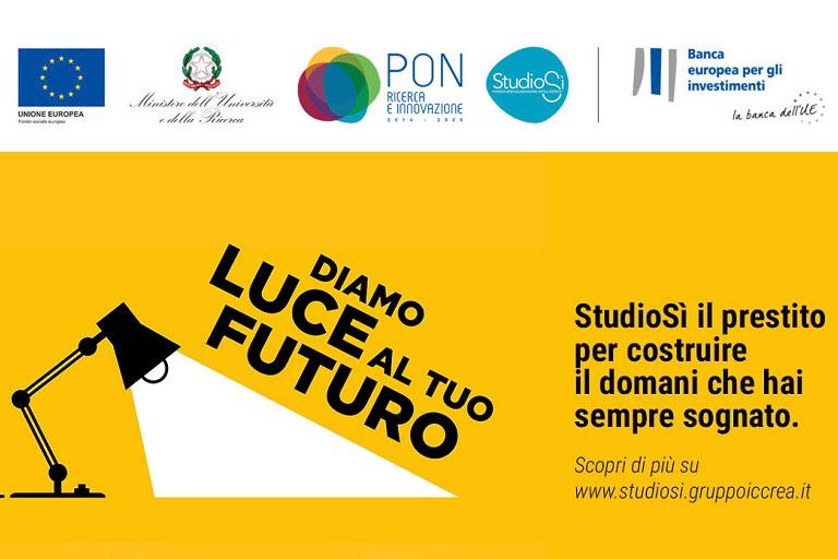 """Master Universitario in Direzione e Gestione di Impresa interamente finanziabile con il Fondo """"StudioSi"""""""