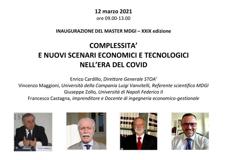 Complessità e nuovi scenari economici e tecnologici nell'era del Covid